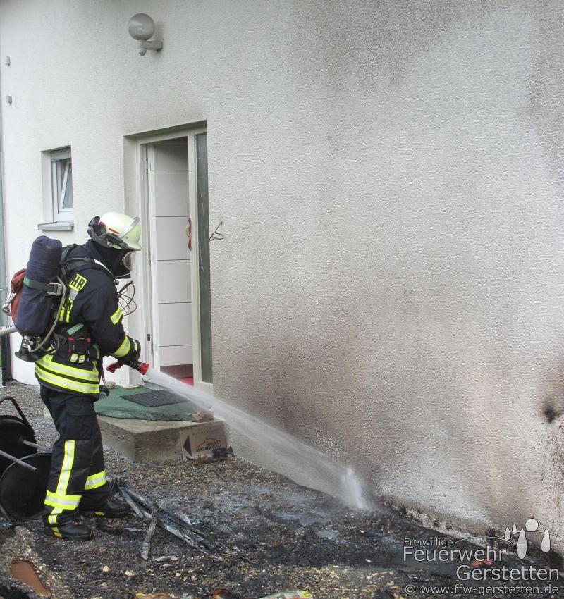 gemeldeter wohnhausbrand verl uft glimpflich freiwillige feuerwehr gerstetten. Black Bedroom Furniture Sets. Home Design Ideas