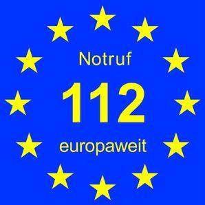 Im Notfall 112: Das gilt seit 25 Jahren europaweit