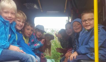 Ev. Kindergarten Schillerstrasse besucht Gerstetter Feuerwache