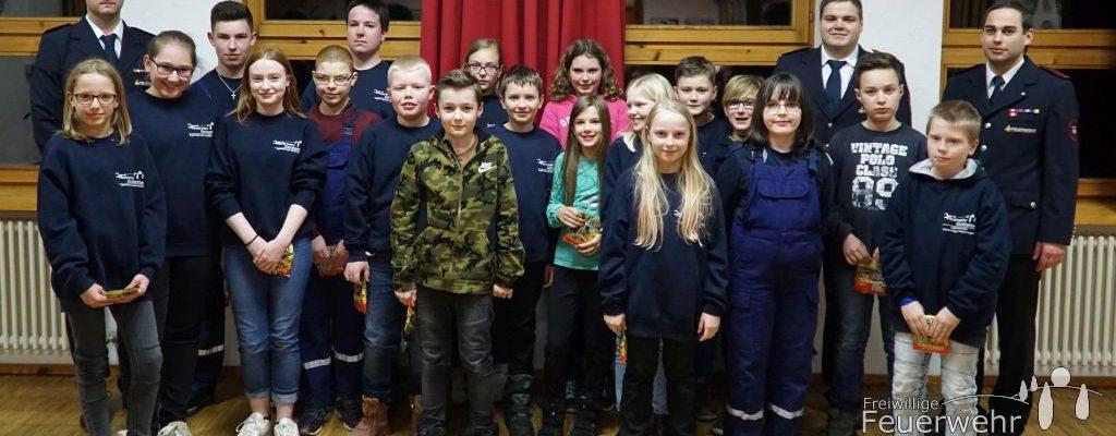 Hauptversammlung der Jugendfeuerwehr